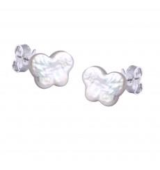 Pendientes Perla Mariposa La Petra