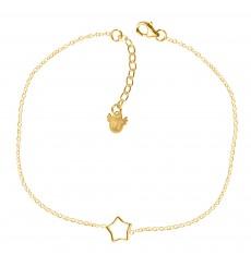 Collar de plata con estrella calada La Petra
